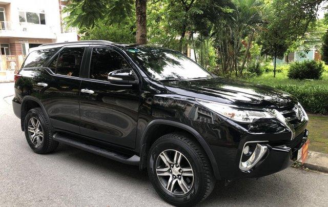 Gia Hưng Auto bán xe Toyota Fortuner 2.7V màu đen sản xuất 2017 bản 4x2 AT1