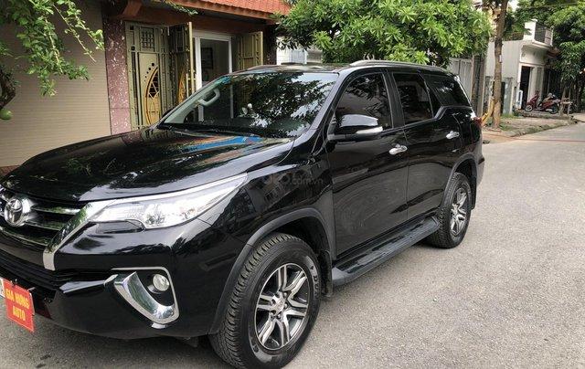 Gia Hưng Auto bán xe Toyota Fortuner 2.7V màu đen sản xuất 2017 bản 4x2 AT6