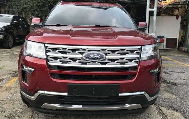 Xe Ford Explorer Limited 2.3L EcoBoost 20203