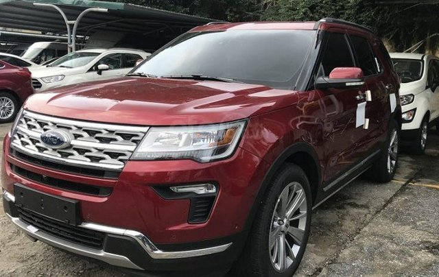 Xe Ford Explorer Limited 2.3L EcoBoost 20205