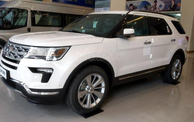 Xe Ford Explorer Limited 2.3L EcoBoost 20201