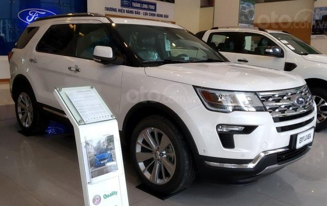Xe Ford Explorer Limited 2.3L EcoBoost 20204