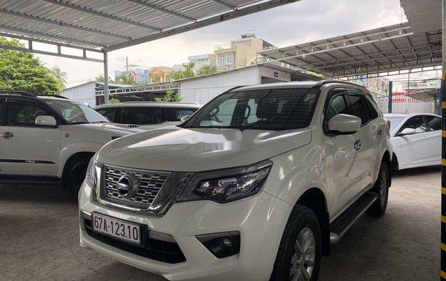 Bán Nissan Terra đời 2019, màu trắng, nhập khẩu  2