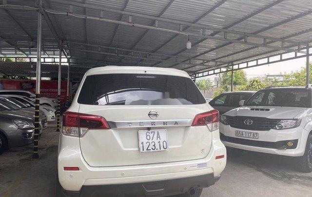 Bán Nissan Terra đời 2019, màu trắng, nhập khẩu  4
