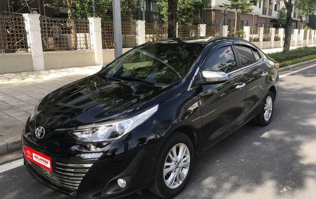 Cần bán Toyota Vios G sản xuất 2019, màu đen0