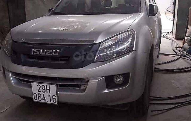 Cần bán lại xe Isuzu Dmax LS 2.5 TD đời 2016, màu bạc, xe nhập1