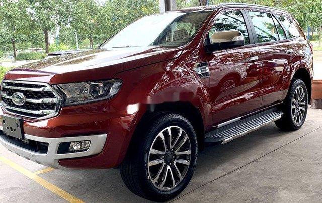 Bán ô tô Ford Everest năm 2020, màu đỏ, nhập khẩu 1