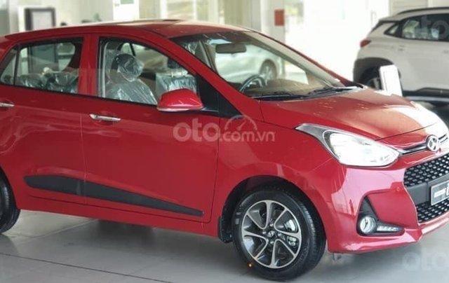 [Giảm 50% thuế trước bạ] Hyundai Grand i10 2020 siêu khuyến mãi, hỗ trợ trả góp 85%, trả trước 80 triệu nhận ngay xe4