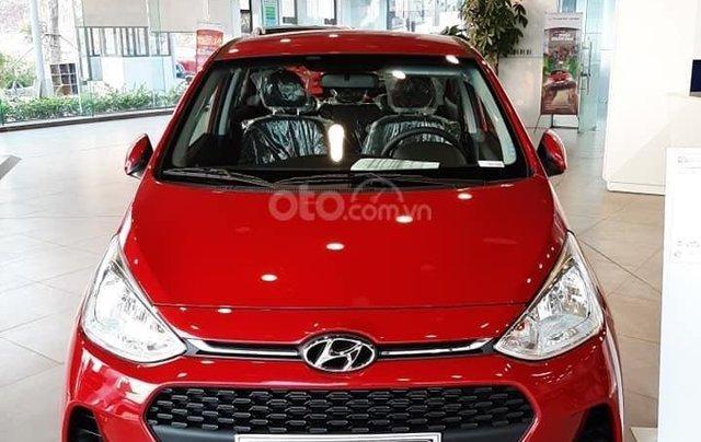 [Giảm 50% thuế trước bạ] Hyundai Grand i10 2020 siêu khuyến mãi, hỗ trợ trả góp 85%, trả trước 80 triệu nhận ngay xe0