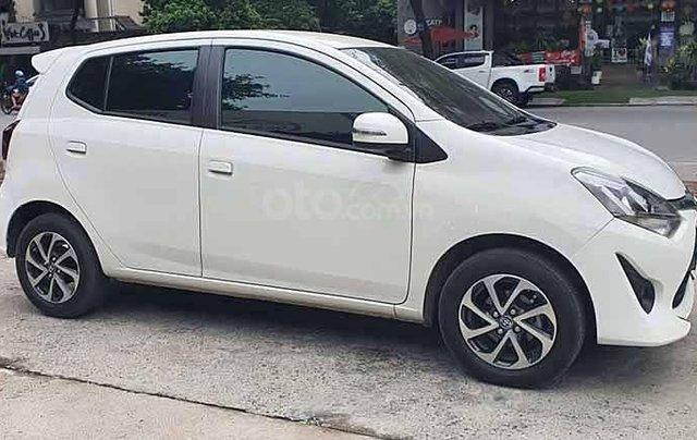 Cần bán lại xe Toyota Wigo G AT sản xuất 2019, màu trắng, xe nhập  0