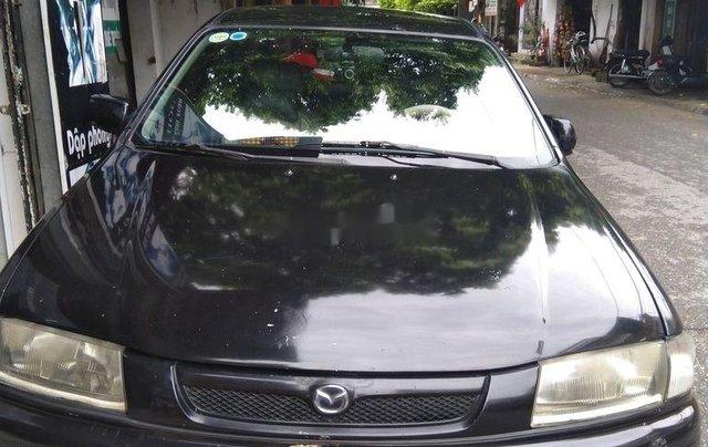 Bán Mazda 323 sản xuất năm 1999, màu đen, giá chỉ 85 triệu0