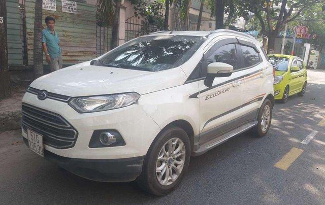 Bán xe Ford EcoSport đời 2016, màu trắng số tự động1