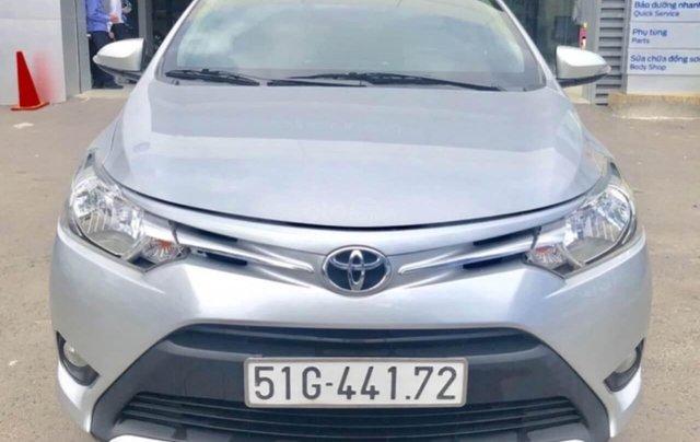 Toyota Vios 1.5E AT đời 2017 bảo hành chính hàng 1 năm0