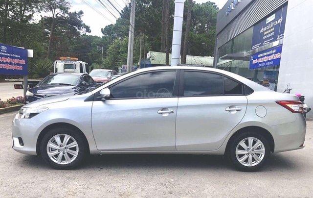 Toyota Vios 1.5E AT đời 2017 bảo hành chính hàng 1 năm1