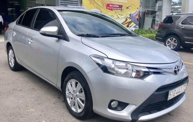 Toyota Vios 1.5E AT đời 2017 bảo hành chính hàng 1 năm5