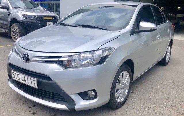 Toyota Vios 1.5E AT đời 2017 bảo hành chính hàng 1 năm4