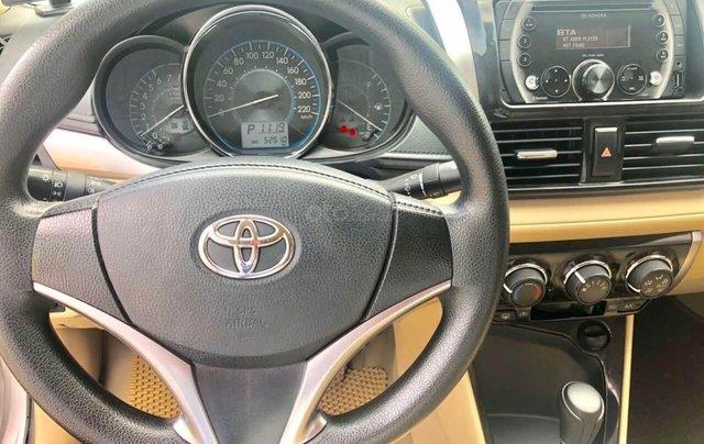 Toyota Vios 1.5E AT đời 2017 bảo hành chính hàng 1 năm10