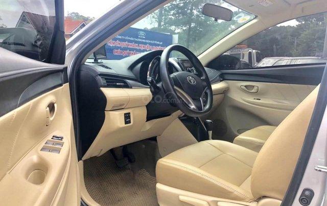 Toyota Vios 1.5E AT đời 2017 bảo hành chính hàng 1 năm8