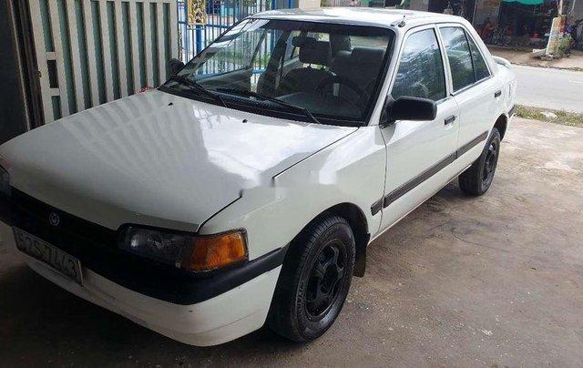 Bán Mazda 323 năm sản xuất 1995, màu trắng, máy 1.6 tiết kiệm xăng0