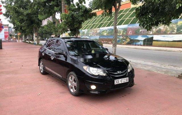 Gia đình bán Hyundai Avante năm sản xuất 2012, màu đen, xe nhập0