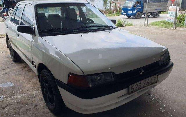 Bán Mazda 323 năm sản xuất 1995, màu trắng, máy 1.6 tiết kiệm xăng7