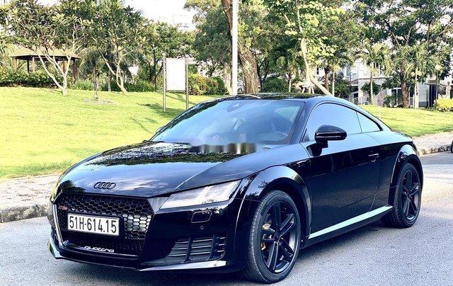 Cần bán xe Audi TT sản xuất năm 2015, màu đen, nhập khẩu nguyên chiếc2