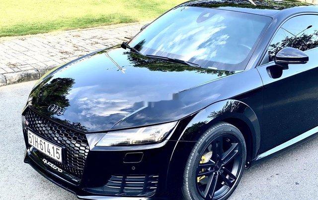 Cần bán xe Audi TT sản xuất năm 2015, màu đen, nhập khẩu nguyên chiếc0