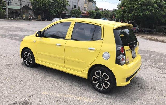 Kia Morning SLX 1.0AT cuối 2010, nhập khẩu, tự động, màu vàng, 1 chủ biển vip 4 số, mới nhất Việt Nam2