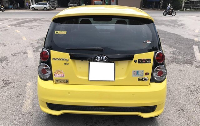 Kia Morning SLX 1.0AT cuối 2010, nhập khẩu, tự động, màu vàng, 1 chủ biển vip 4 số, mới nhất Việt Nam14