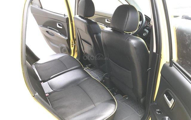 Kia Morning SLX 1.0AT cuối 2010, nhập khẩu, tự động, màu vàng, 1 chủ biển vip 4 số, mới nhất Việt Nam6