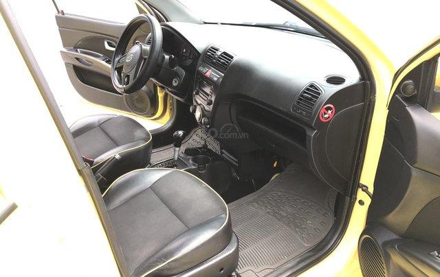 Kia Morning SLX 1.0AT cuối 2010, nhập khẩu, tự động, màu vàng, 1 chủ biển vip 4 số, mới nhất Việt Nam5