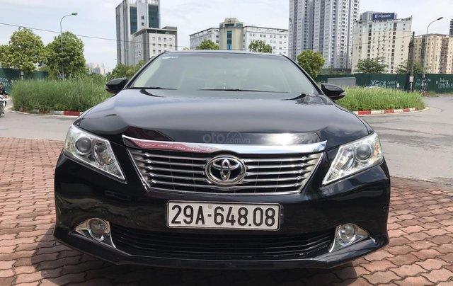 Xe Toyota Camry 2.5 G SX 2013, xe biển HN4