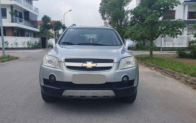 Cần bán Chevrolet Captiva sản xuất năm 2010, màu bạc 2
