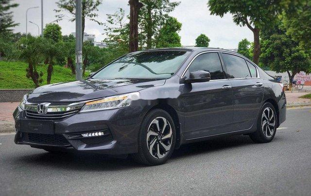 Bán xe Honda Accord sản xuất 2018, màu xám, nhập khẩu nguyên chiếc, giá 939tr0