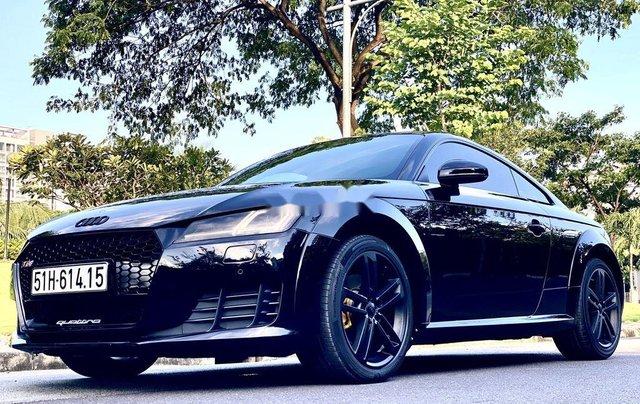 Cần bán xe Audi TT sản xuất năm 2015, màu đen, nhập khẩu nguyên chiếc3