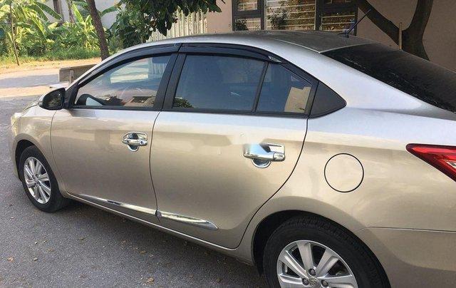 Bán xe Toyota Vios G đời 2014, màu ghi vàng1