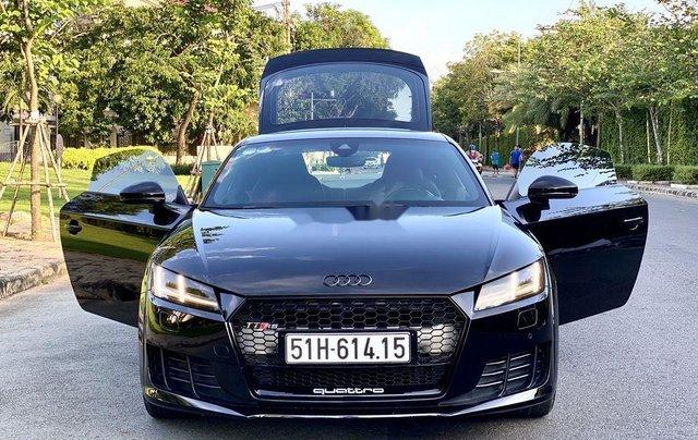Cần bán xe Audi TT sản xuất năm 2015, màu đen, nhập khẩu nguyên chiếc4