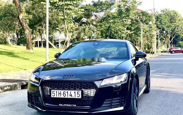 Cần bán xe Audi TT sản xuất năm 2015, màu đen, nhập khẩu nguyên chiếc1