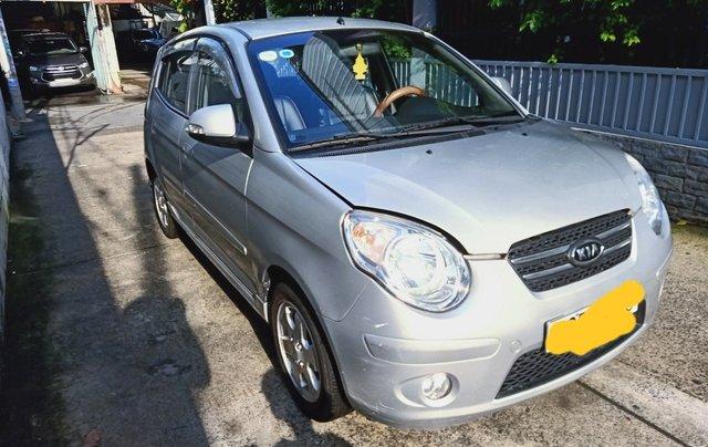 Bán Kia Morning đời 2008, màu bạc, xe gia đình0
