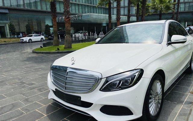 Mercedes C250 SX 2015 model 2016 màu trắng nội thất đen4