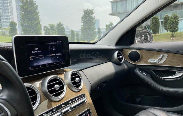 Mercedes C250 SX 2015 model 2016 màu trắng nội thất đen9