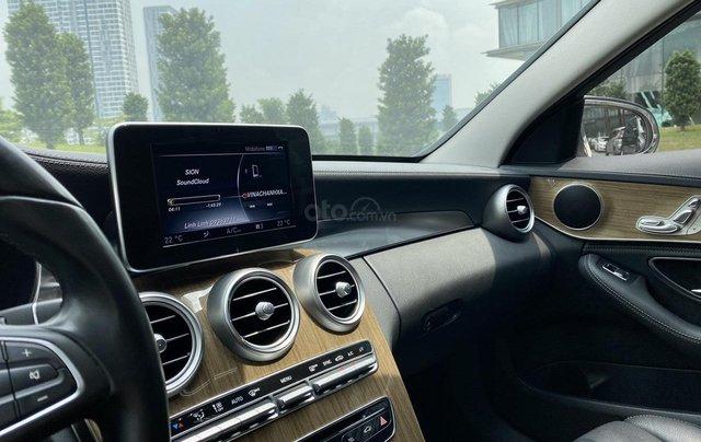 Mercedes C250 SX 2015 model 2016 màu trắng nội thất đen7