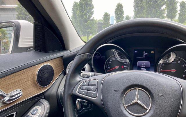 Mercedes C250 SX 2015 model 2016 màu trắng nội thất đen8