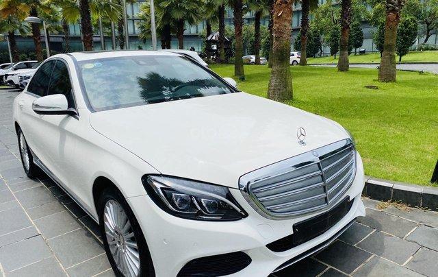 Mercedes C250 SX 2015 model 2016 màu trắng nội thất đen6
