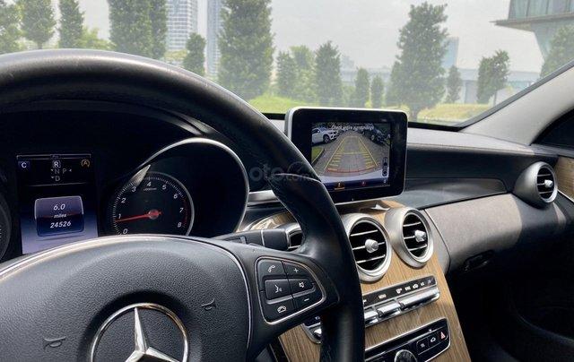 Mercedes C250 SX 2015 model 2016 màu trắng nội thất đen10