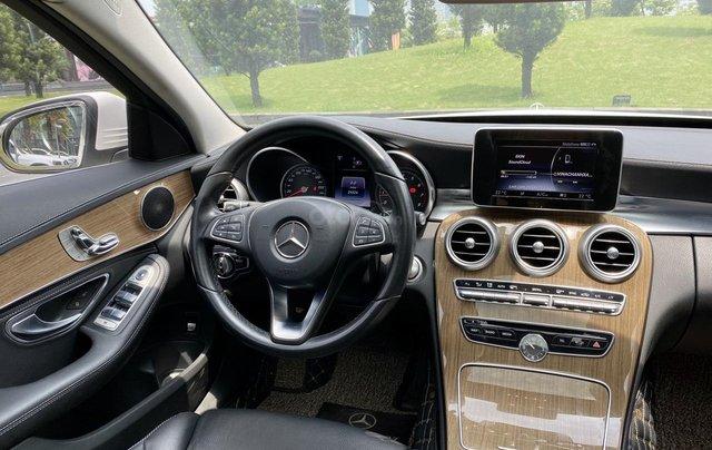 Mercedes C250 SX 2015 model 2016 màu trắng nội thất đen12