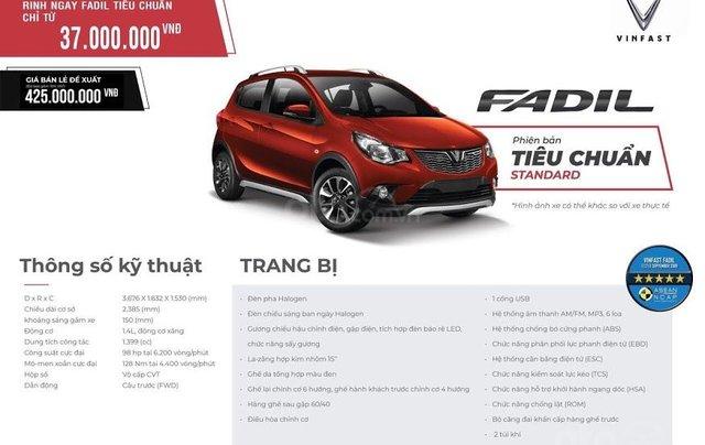 Xe VinFast Fadil 1.4 AT 2020 - giá khủng8