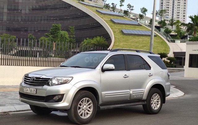 Cần bán nhanh xe Toyota Fortuner sản xuất năm 2013, giá chỉ 555 triệu7