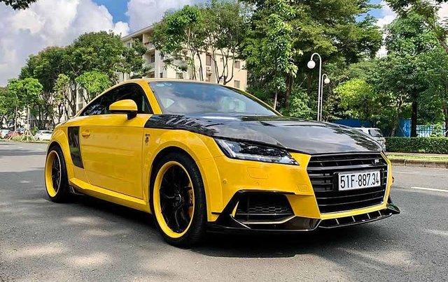 Cần bán gấp Audi TT sản xuất năm 2018, màu vàng, nhập khẩu còn mới0