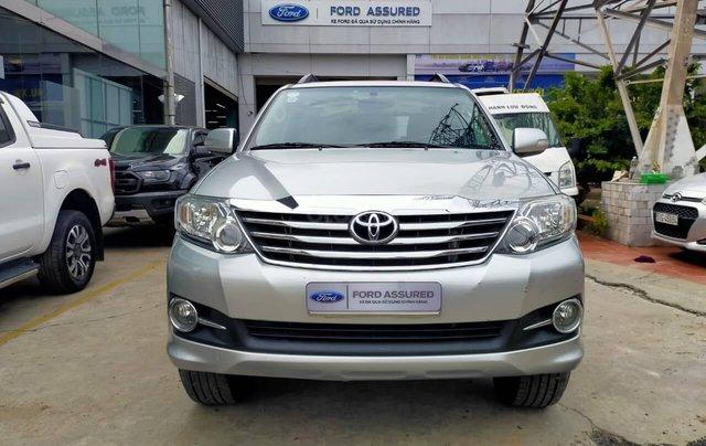 Toyota Fortuner 2.7V AT 2016 xe bán chính hãng0